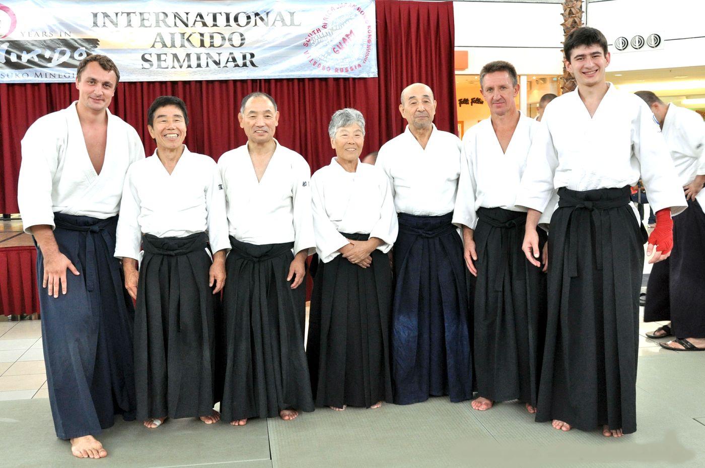 Международный семинар по айкидо