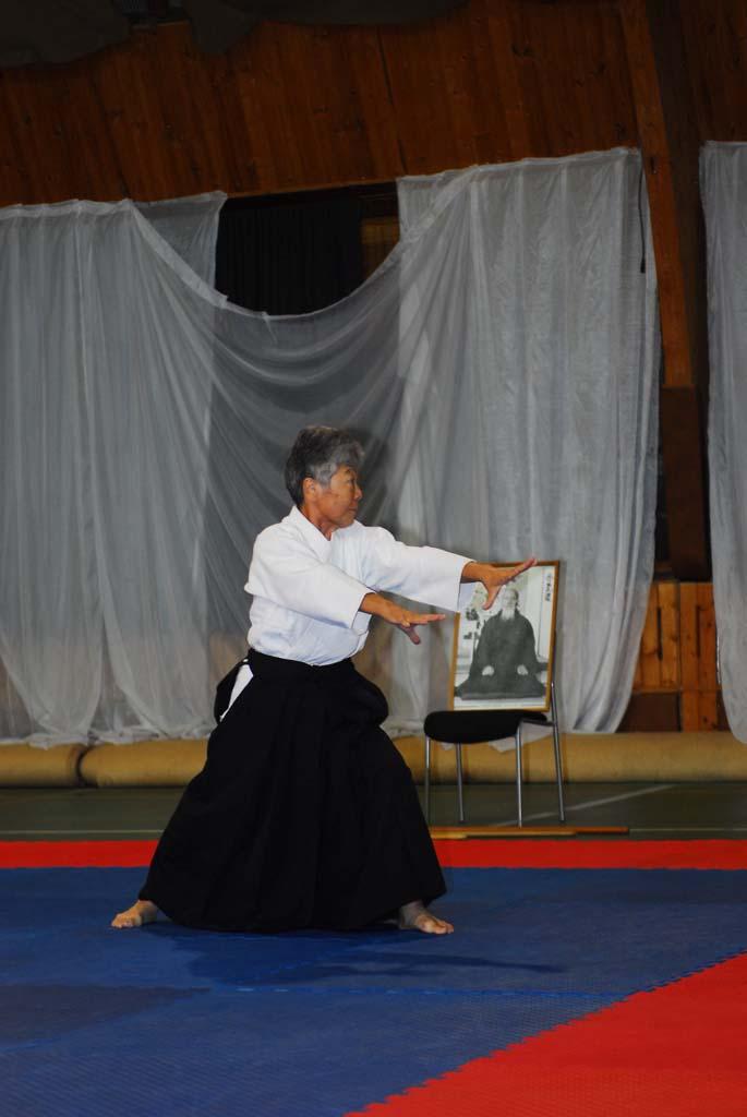 Семинар сэнсэя Муцуко Минэгиши