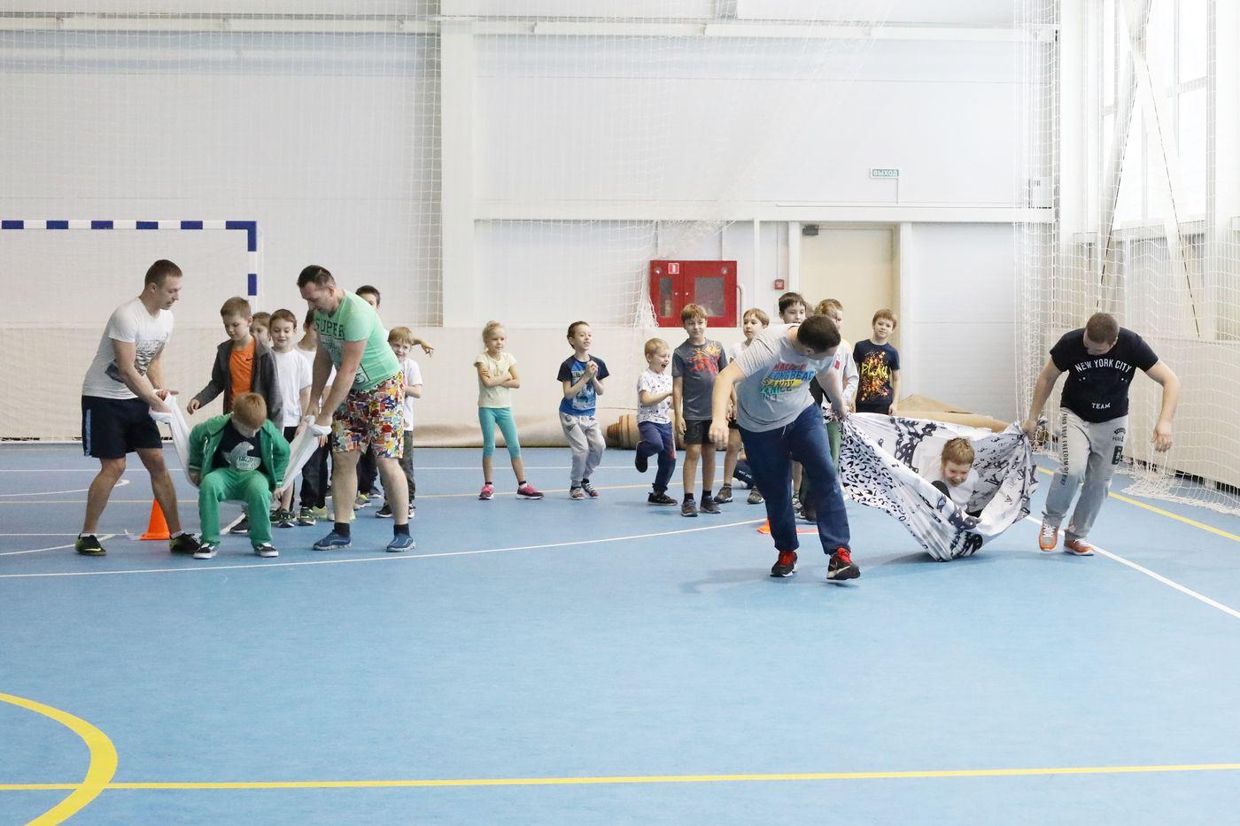 Веселые старты в Красногорске