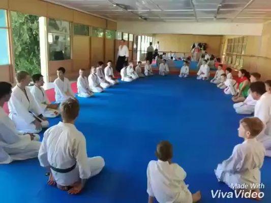Детский спортивный лагерь айкидо в Евпатории